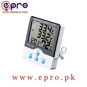 HTC-2A HTC2A Digital Clock Electronic Temperature Hygrometer Thermometer in Pakistan