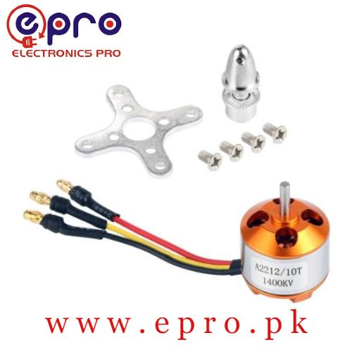 A2212 1400kV Brushless DC Motor BLDC in Pakistan