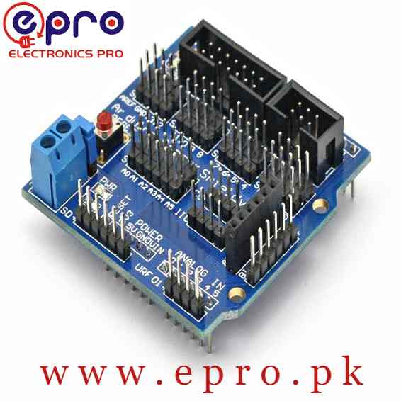 Arduino Sensor Shield V5.0 Expansion Board for Arduino in Pakistan