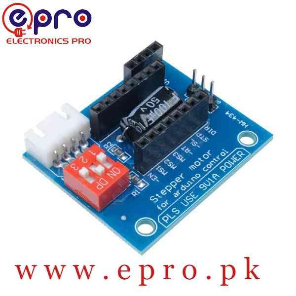 HW-434 A4988 DRV8825 Stepper Motor Driver Control Panel Board Expansion Shield Board Module for 3D Printer in Pakistan