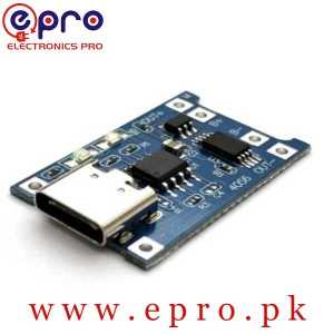 TP4056 Lithium Battery Charging Board 1A Type C in Pakistan