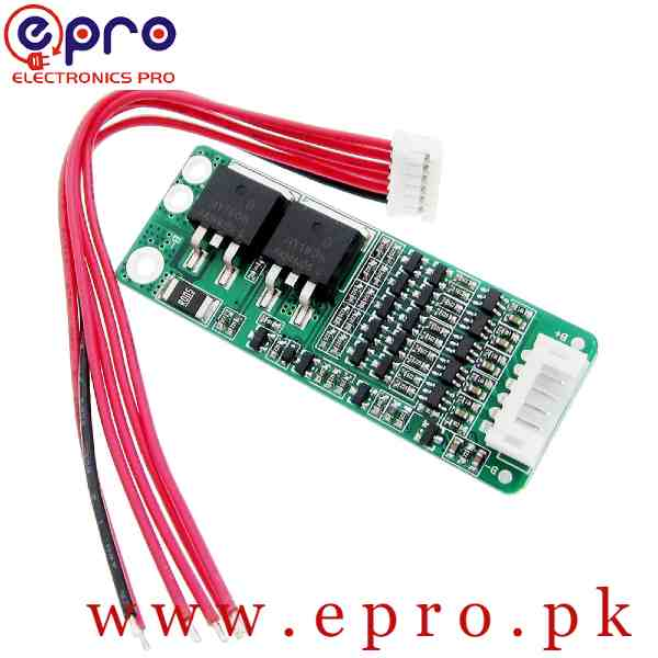 5S 15A 18V BMS Li-ion Lithium Battery 18650 Charger Protection Board Cell Protection Circuit in Pakistan