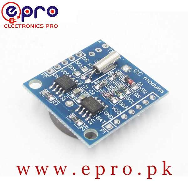 RTC I2C DS1307 AT24C32 Real Time Clock Module in Pakistan