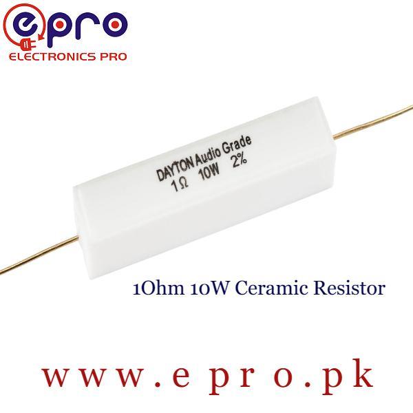 10W 1 Ohm Ceramic Resistor in Pakistan
