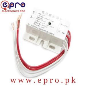Infrared Human Sensor Switch PIR Microwave Radar Body Motion Sensor Module Adjustable 220V 50Hz in Pakistan