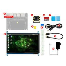 Jetson-Nano-Development-Pack-Type C-with-Display-Camera-TF Card