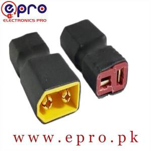 No Wire XT60 Male to Deans T Female Plug Connector Female Conversion Adapter in Pakistan