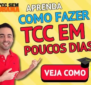 TCC Banner - Curso TCC SEM DRAMA