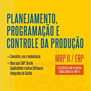 51VqFo56ERL. SX337 BO1204203200  - Livro: Planejamento, Programação e Controle da Produção