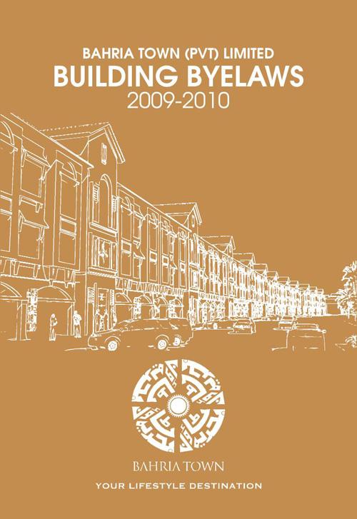 Bahria Town Rawalpindi Bylaws 2009-2010