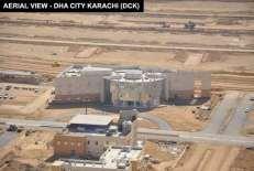 Aerial View DHA City Karachi