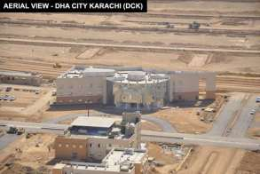 Aerial View DHA City Karachi