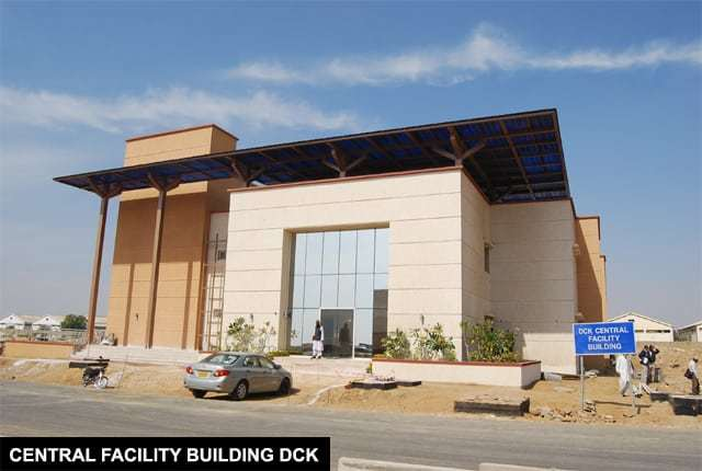 Central Facility Building DHA City Karachi