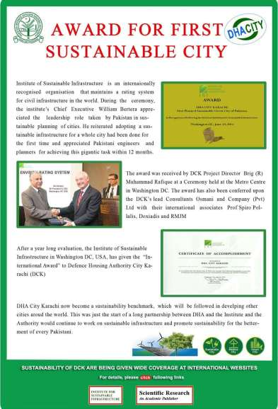 First Sustainable City DHA City Karachi