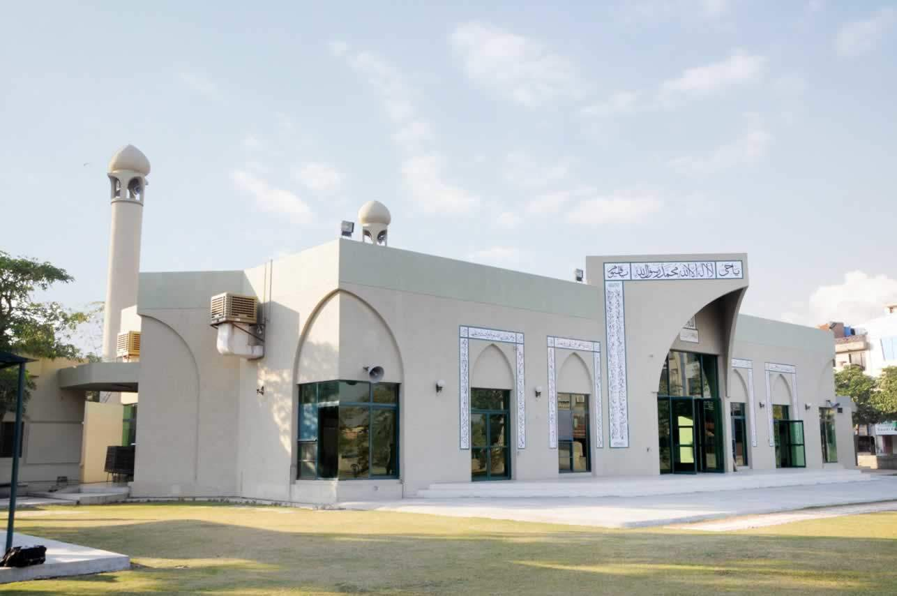 Sector T Mosque Phase III DHA Lahore
