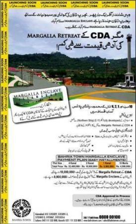 Bahria Town Islamabad Margalla Enclave