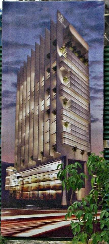 Park Lane Tower Bahria Town Islamabad Render