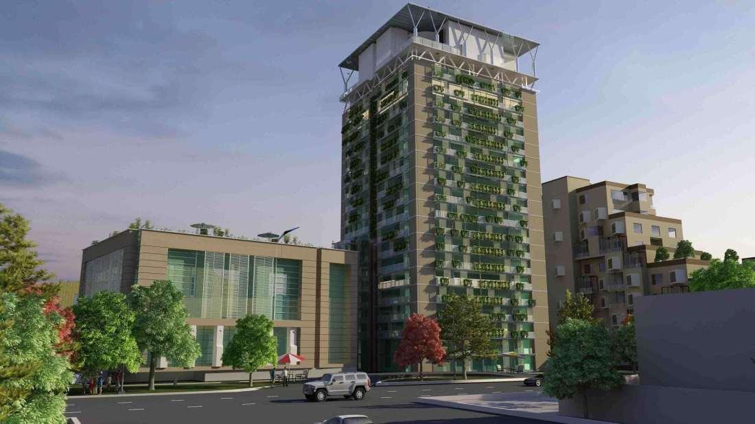DHA PentaSquare Phase 5 Lahore Render