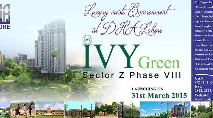 IVY Green Sector Z Phase 8 DHA Lahore Ballot Result