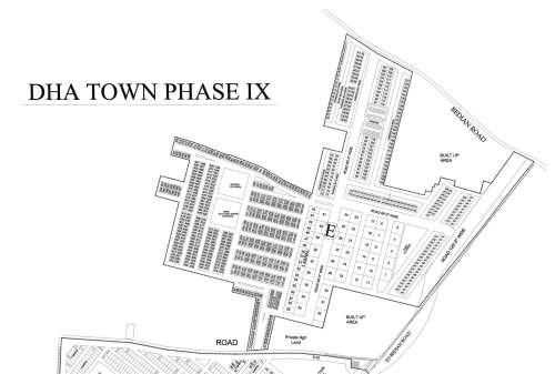 DHA 9 Town E Block