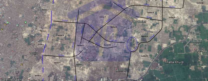 DHA Lahore Phase 9 Prism Fast Track Development May 2016
