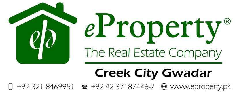 Creek City Gwadar Plots & Houses for Sale