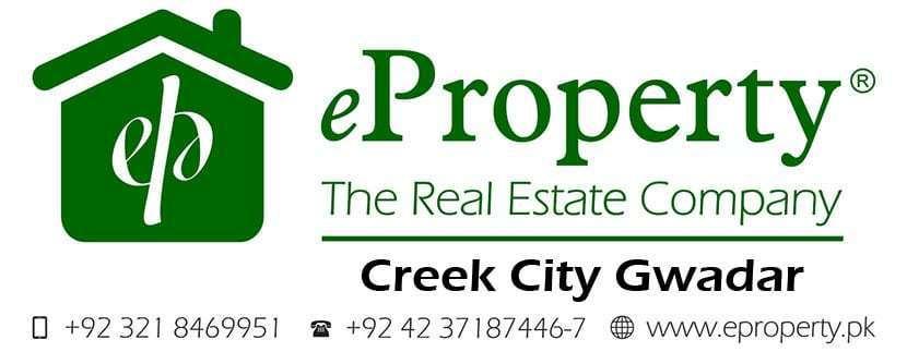 Creek City Gwadar Plots & Houses for Sale