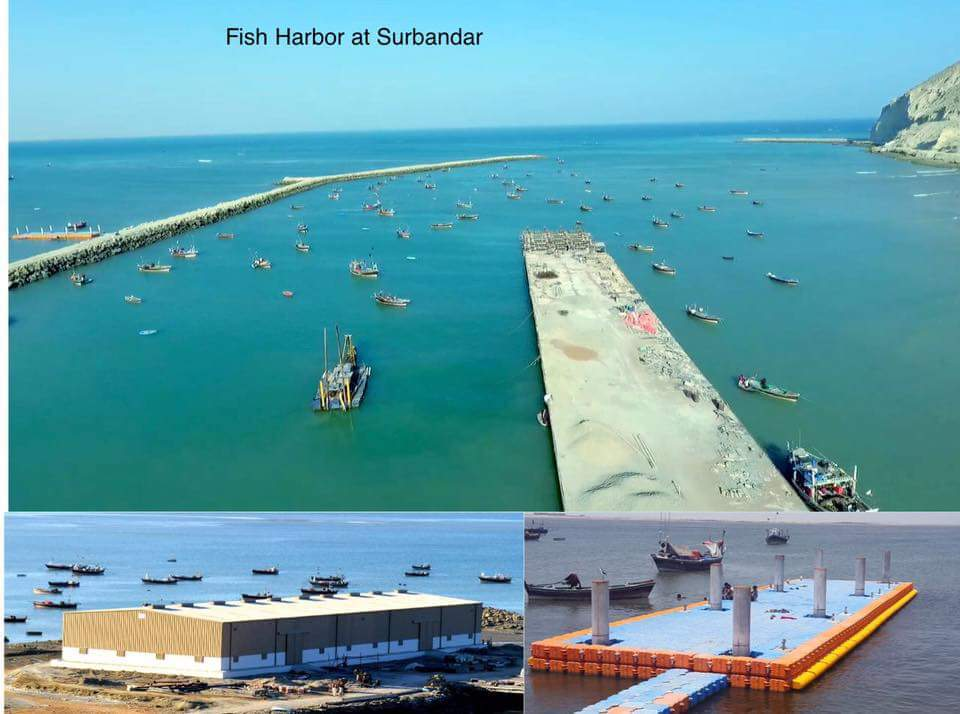 Fish Harbor at Surbandar Gwadar