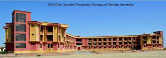 GDA District Complex Gwadar - Temporary Capmus of Gwadar University