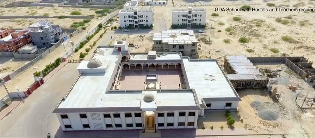 GDA School with Hostels & teachers Residence Gwadar