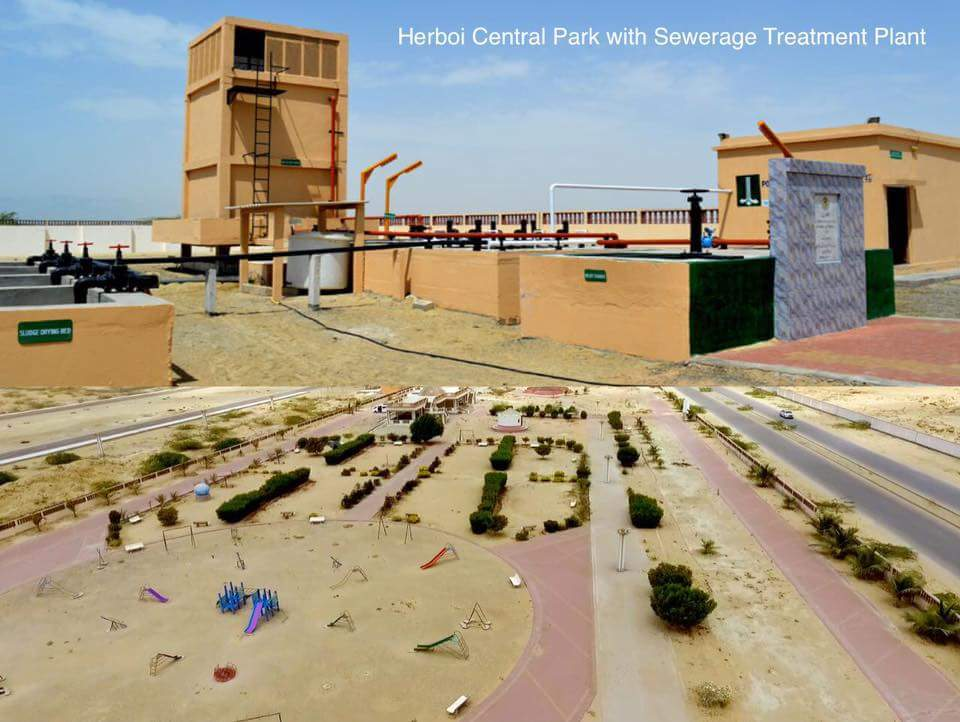Herboi Central Park with Sewerage Treatment Plant