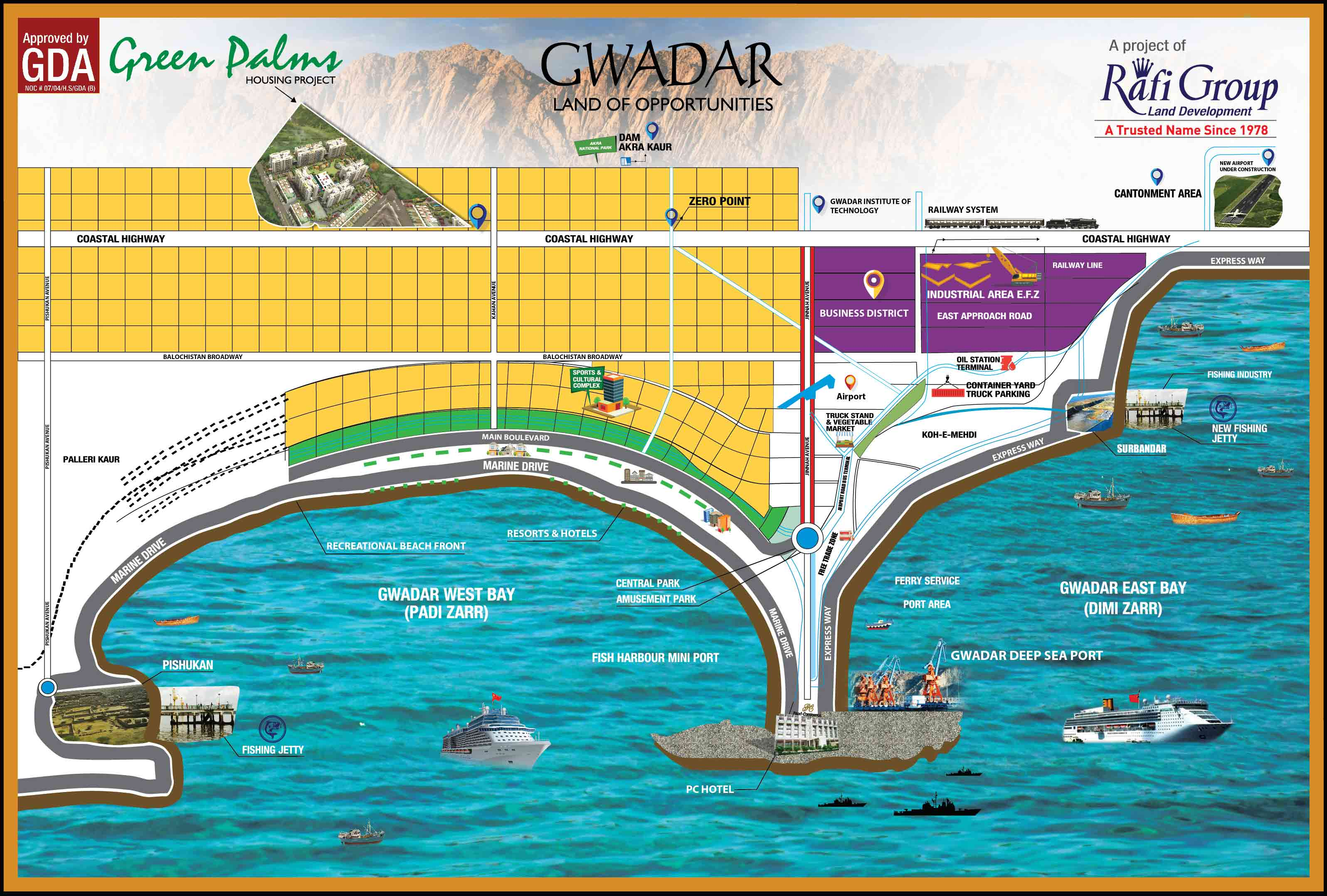Gwadar New Airport Design