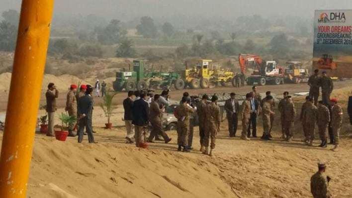 DHA Bahawalpur Ground Breaking Sector B & C 09-12-2016 (1)