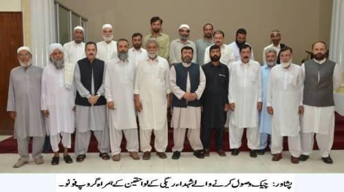 DHA Peshawar group photo with Regi Martyrs