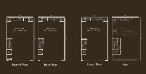 Defence Raya Fairways Commercial Center 10 Marla Commercial Floor Plan 1