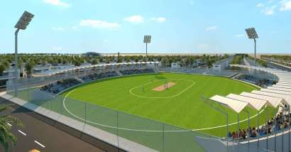 Blue Ocean Residency Gwadar Front View Sports Complex
