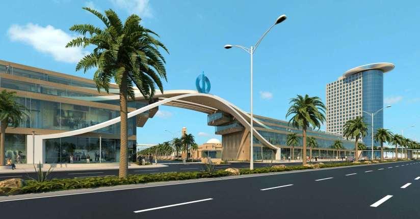 Blue Ocean Residency Gwadar Main Gate