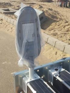 Installation of Solar Lights Main Boulevard DHA Bahawalpur (2)