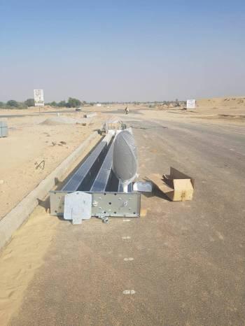 Installation of Solar Lights Main Boulevard DHA Bahawalpur (4)