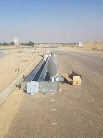 Installation of Solar Lights Main Boulevard DHA Bahawalpur (4)