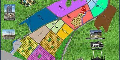 DHA Peshawar Map