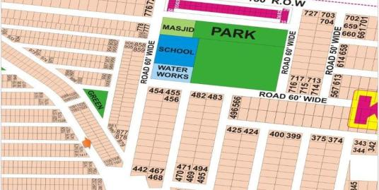 DHA Lahore Plot for Sale Phase 9 Prism Sector K 5 Marla # 1102