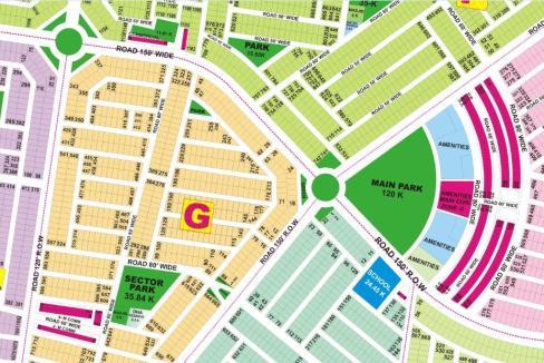 DHA Lahore Phase 9 Location Map Development News | eProperty®