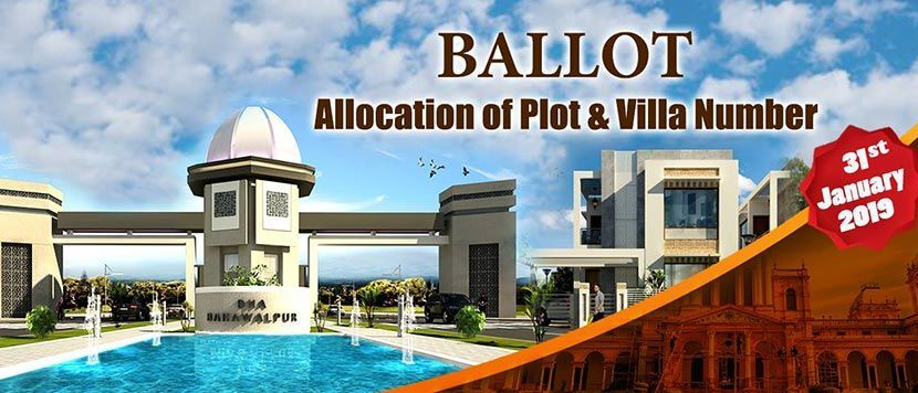 DHA Bahawalpur Plot Balloting