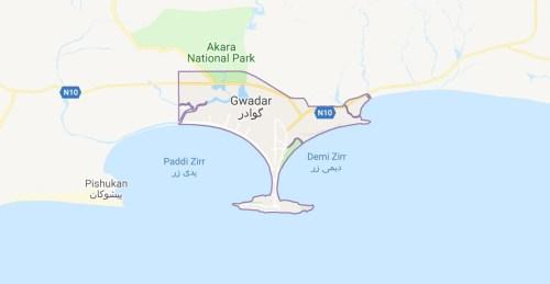Gwadar Maps