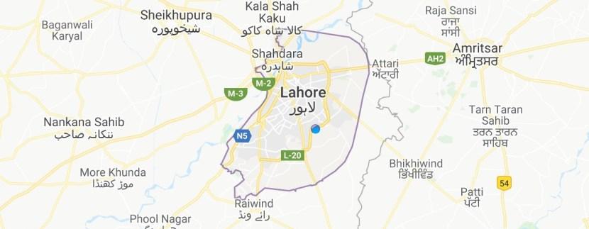 Lahore Maps