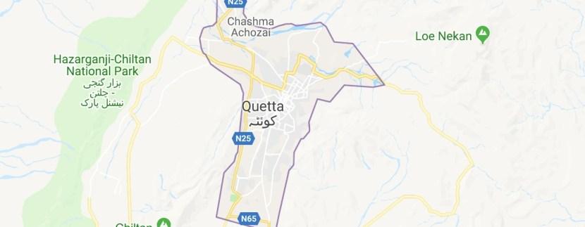 Quetta Maps