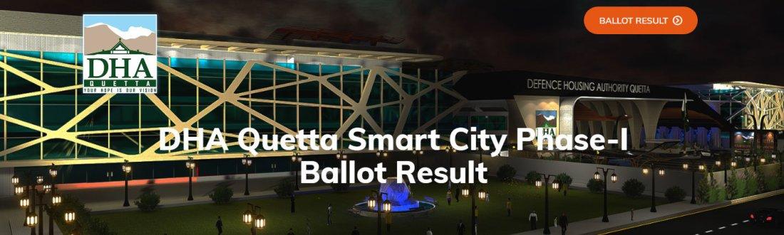 DHA Quetta Ballot Result