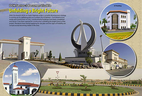 DHA City Karachi Sector 3 Become Livable