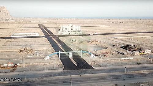 FTBA Airport Road Gwadar
